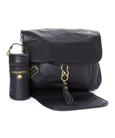 bd9219c0d9 Look what I found on  zulily! Black Diaper Bag Set by Big Buddha ...