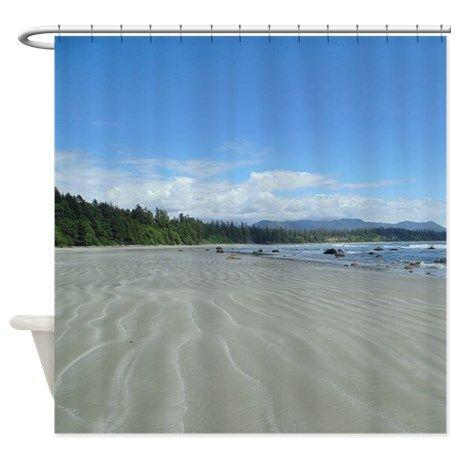 Long Beach Shower Curtain on CafePress.com