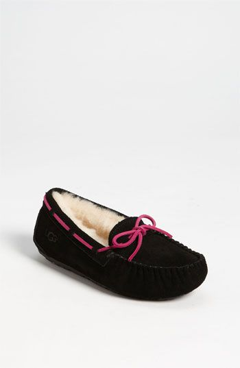 Free shipping and returns on UGG® Australia 'Dakota' Moccasin (Little Kid & Big Kid) at Nordstrom.com. Suede moccasin with an indoor/outdoor sole features ...