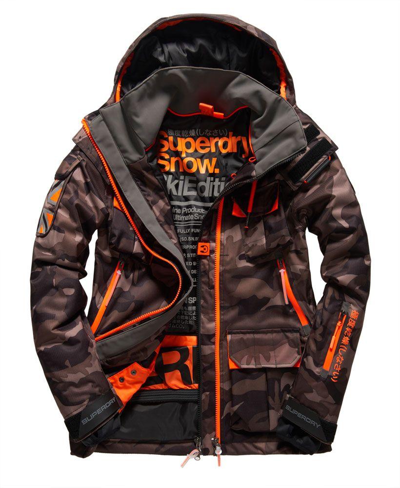 Superdry Ultimate Vestes Service Veste Pour Manteaux Et Snow 6wf6TxCq