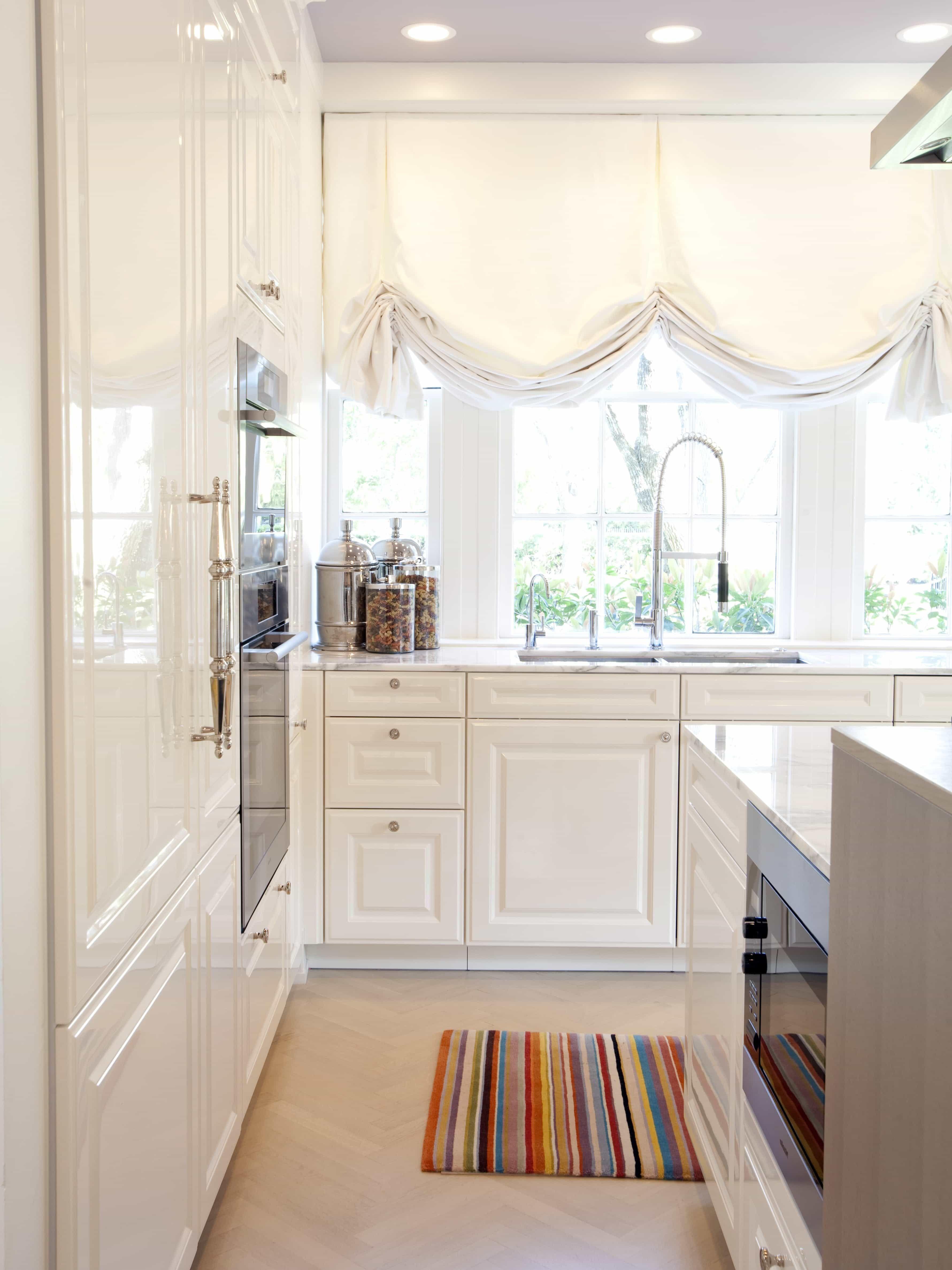 Impressive DIY Kitchen Window Curtains 9   Kitchen Ideas ...