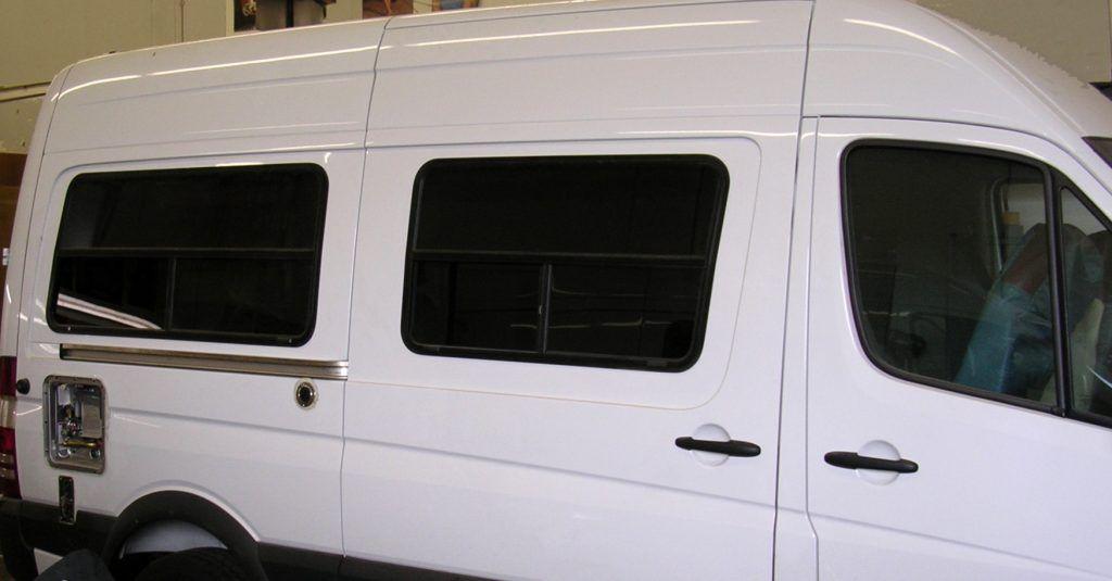 Sprinter Van Conversion Windows New Generation 2007 Current We