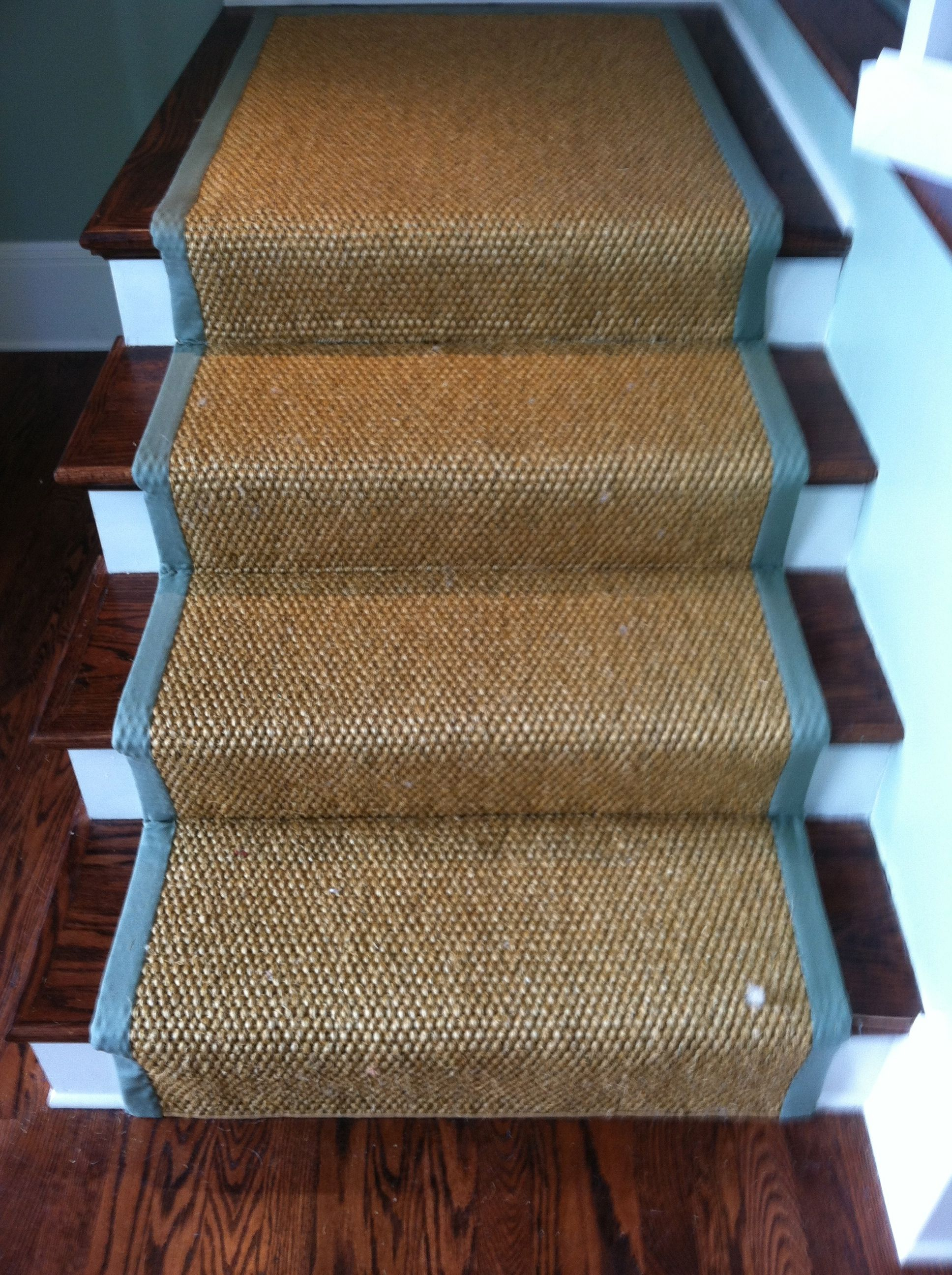 Best This Is A Custom Fabricated Sisal Rug With A 3 Wide 640 x 480