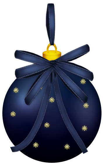 Dark Blue Christmas Ball Png Clipart Picture Blue Christmas Christmas Balls Christmas Colors
