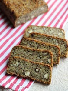Gluten free bread   http://ellanreseptikirja.blogspot.fi/2014/11/gluteeniton-vuokaleipa.html