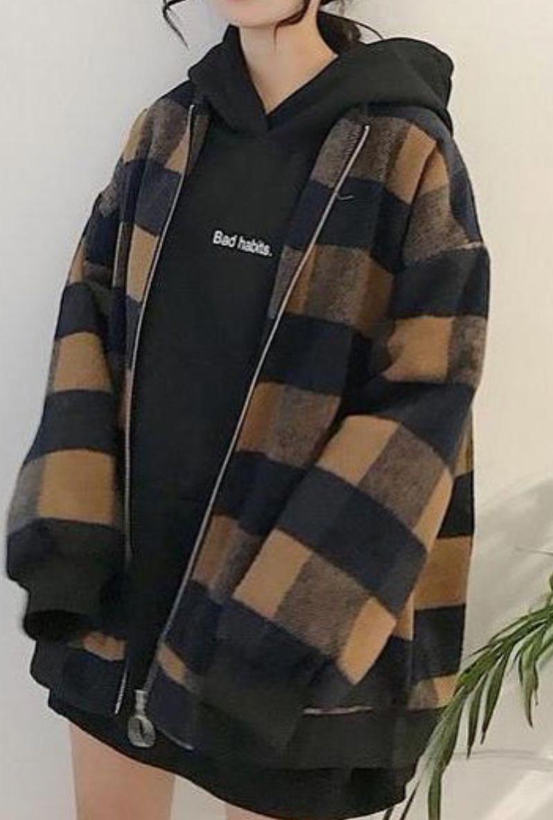 Red flannel 2018  plaid coat  plaid jacket  winter fashion  fashion