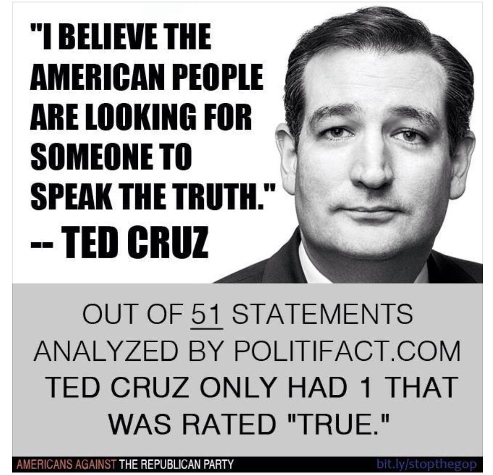 Ted Cruz Quotes Is Anyone Surprised Biggest Liar In His Birth Homes Canada And