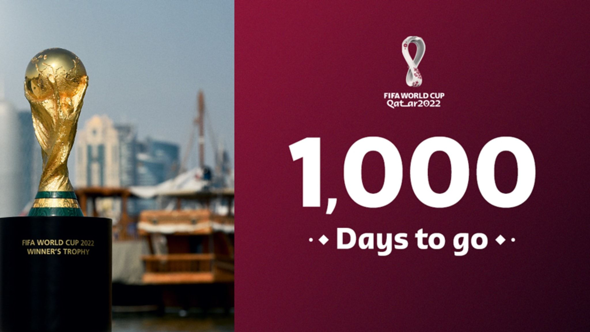 Qatar on track to the world with just 1000 days to