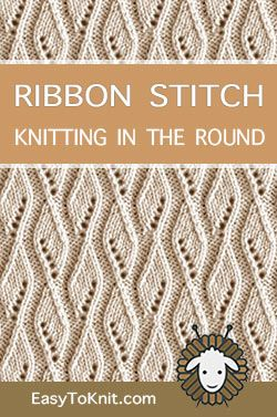 Eyelet Lace 84 in the round | Lace knitting patterns, Lace ...
