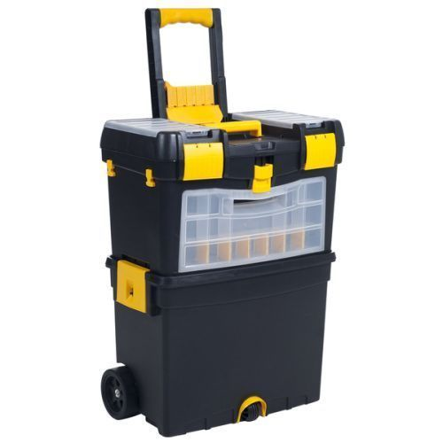 Toolbox Chest Rolling Tool Box Cart Storage Portable Mobile Workshop Deluxe New #ToolboxChestRolling