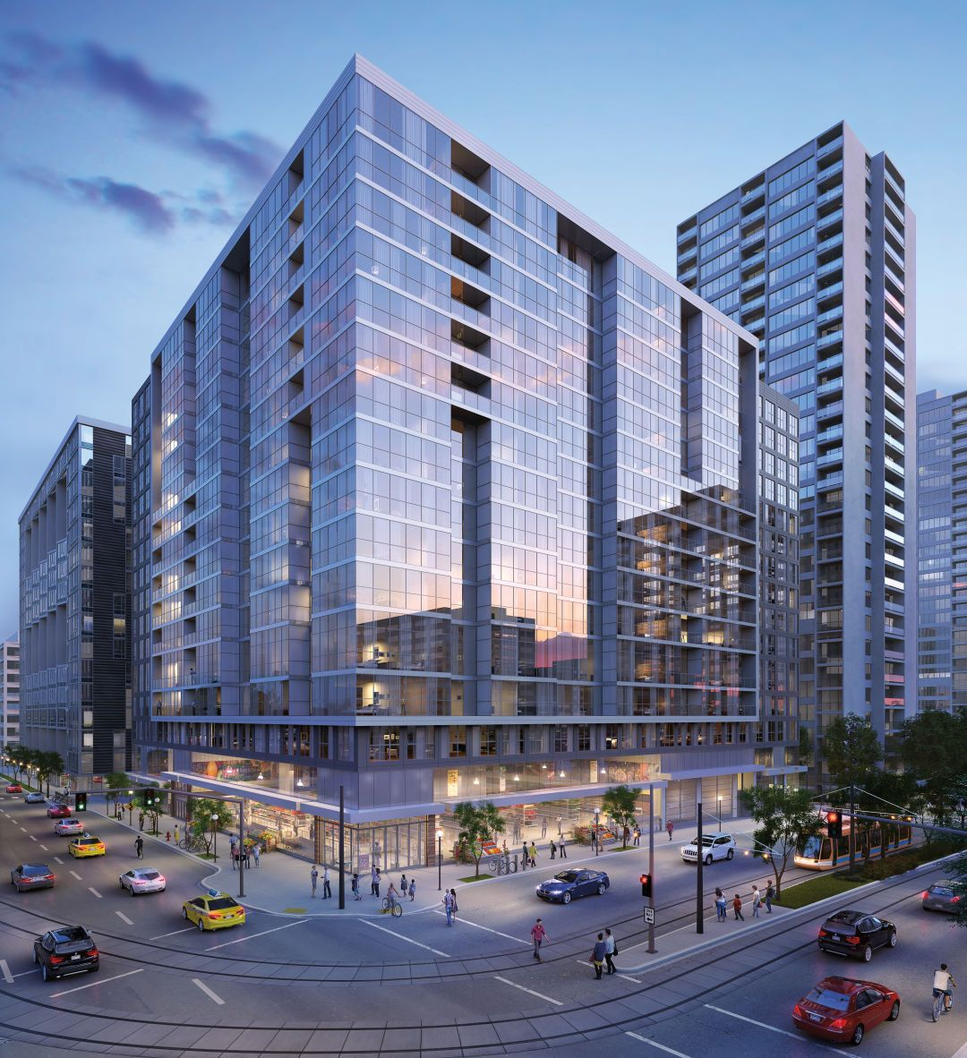 These 4 Giant Apartment Buildings Will Change Downtown