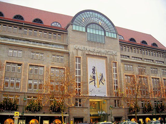 Kadewe Kaufhaus Des Westens Second Largest Department Store In Europe Trumped Only By Harrods Of London Germany Berlin Germany Favorite Places