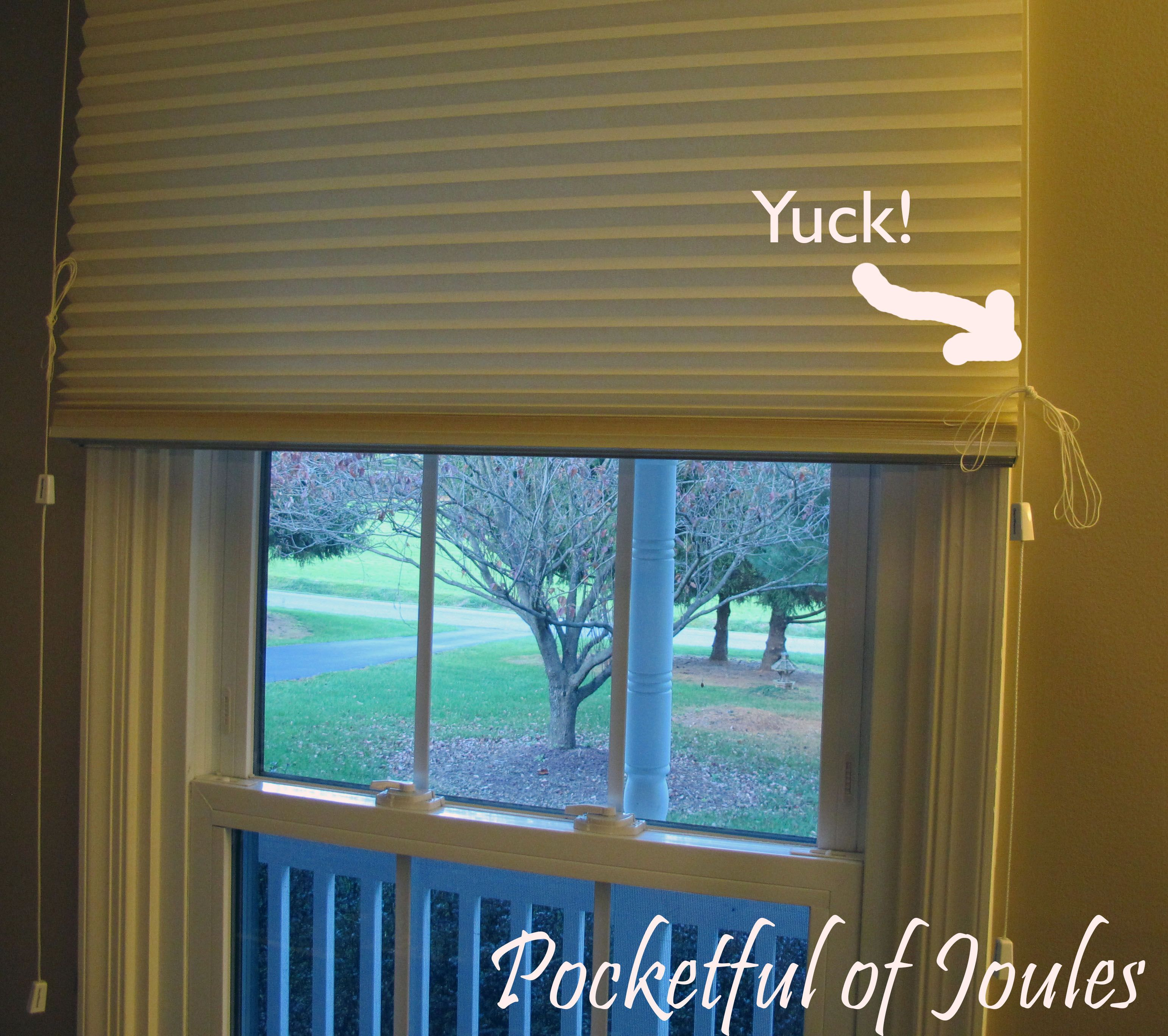 DIY How to Tie up Long Blind Cords Diy blinds, Blinds