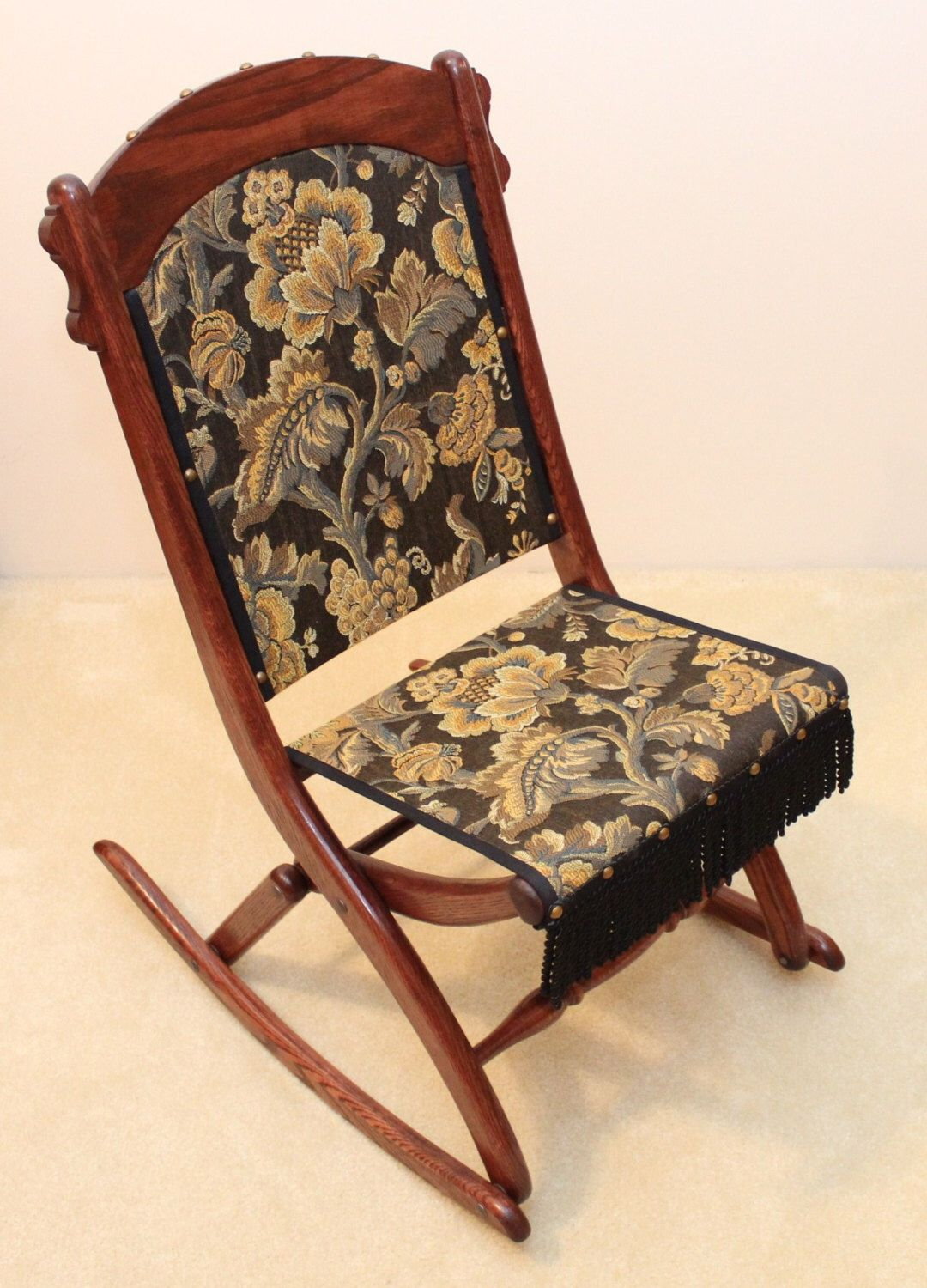 Cool Civil War Folding Rocking Chair Mahoney For My Rv Andrewgaddart Wooden Chair Designs For Living Room Andrewgaddartcom