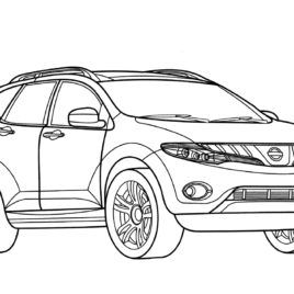 nissan gt r coloring page free printable coloring pages