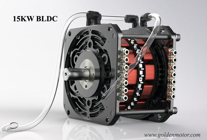 Electric Car Motor 15kw Bldc