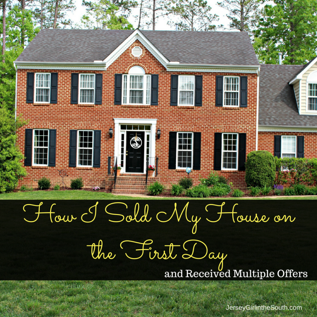 Home selling tips How I sold my house on the first day with