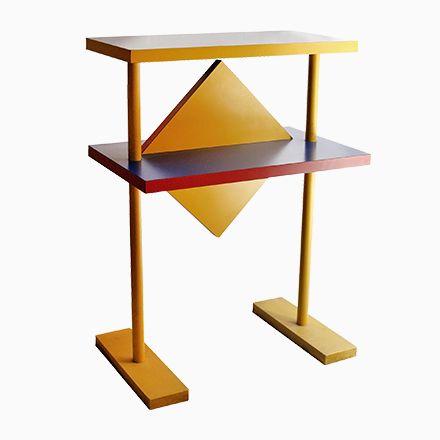 Italienischer Geometrischer Tresen, 1980er Jetzt bestellen unter ...