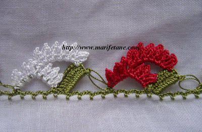 turkish #oya #needlelace #edging