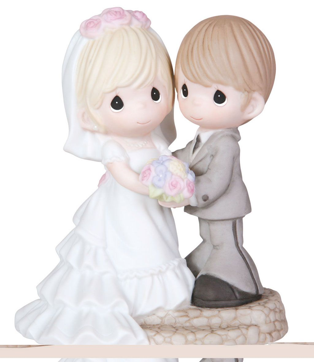 Cute-Precious-Moments-Wedding-Cake-Topper | Bridal Cake Toppers ...