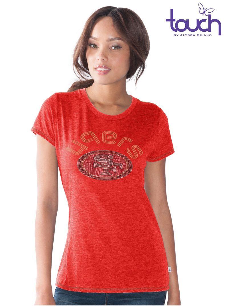 G3 Sports Women's San Francisco 49ers Friday Night Lights T-Shirt