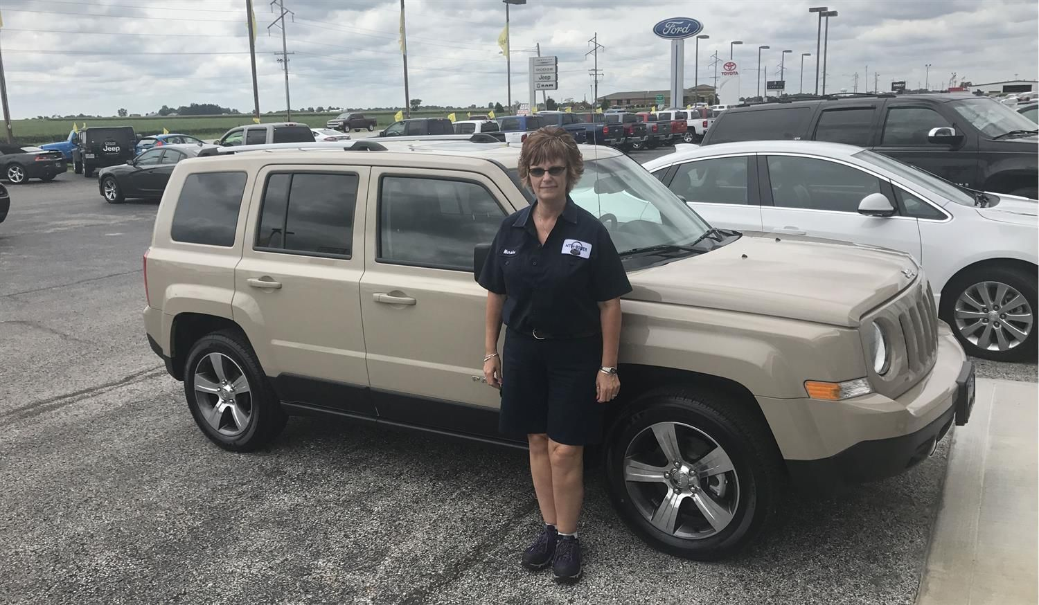Awesome Congratulations To Marsha And Jack On Your New 2017 Jeep