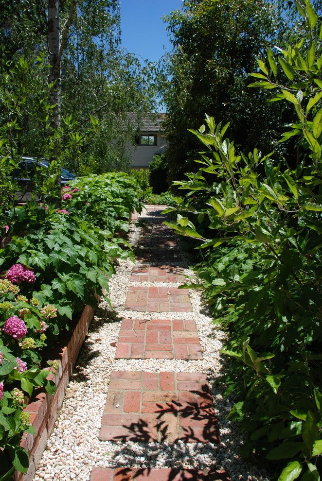 andrew renn design  beautiful gardens of melbourne australia - traditional - landscape