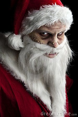 What Do You Want For Christmas Hmm Santa Scary Scary Christmas