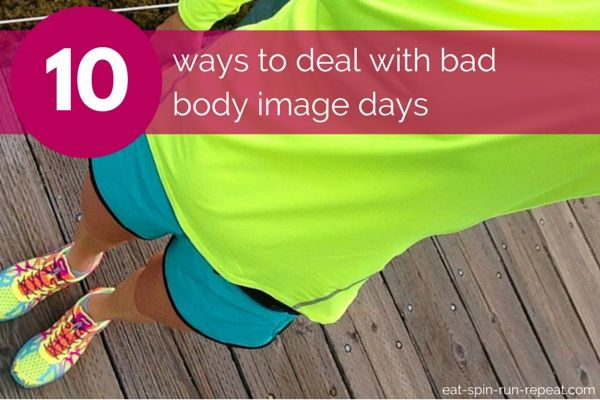 Ever stare in the mirror and not like the face reflecting back at you? Bad body image affects all of us at some point, so here's 10 ways to help fix your self-talk and feel better ASAP!