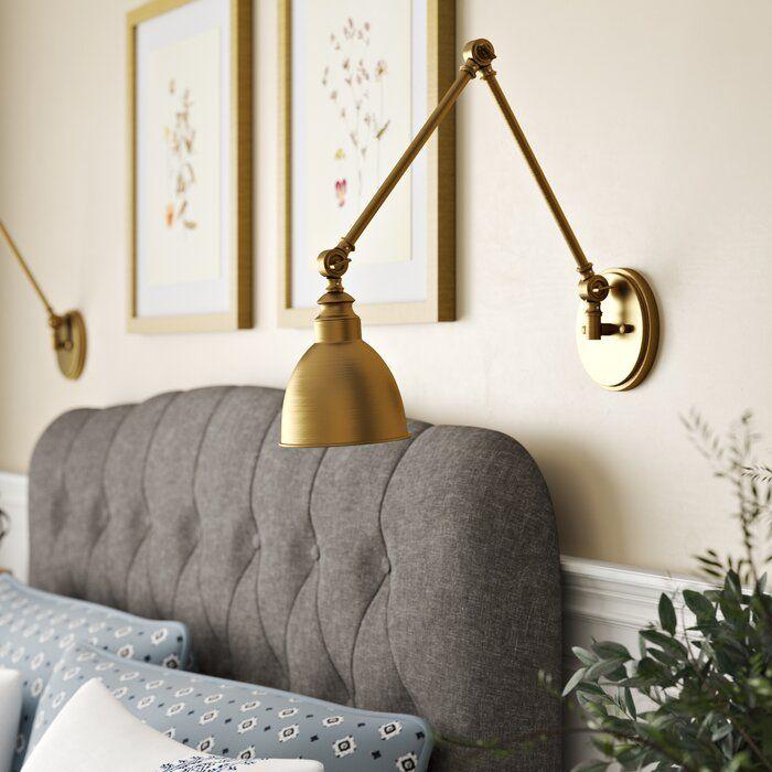 birch lane™ heritage hancock 1light swing arm lamp
