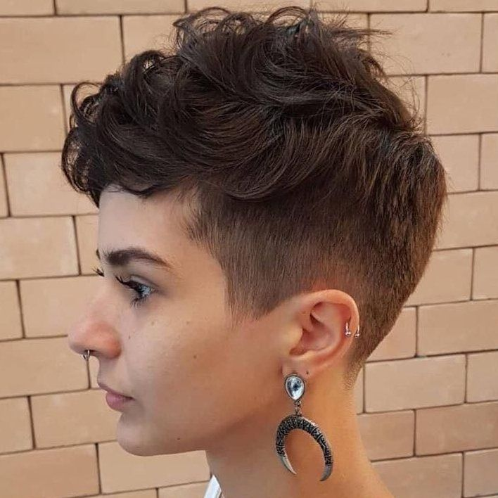 short curly haircuts for women pixie cuts