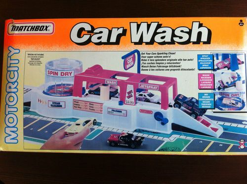 Vintage Matchbox Motorcity Car Wash Very Rare Ebay Car Wash Matchbox Childhood Toys