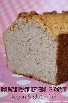Super schnelles Buchweizen - Brot (vegan und glutenfrei) #glutenfreierezepte
