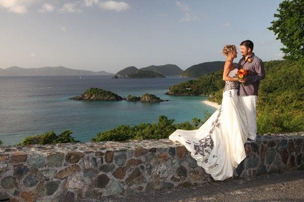A Trunk Bay St John Wedding