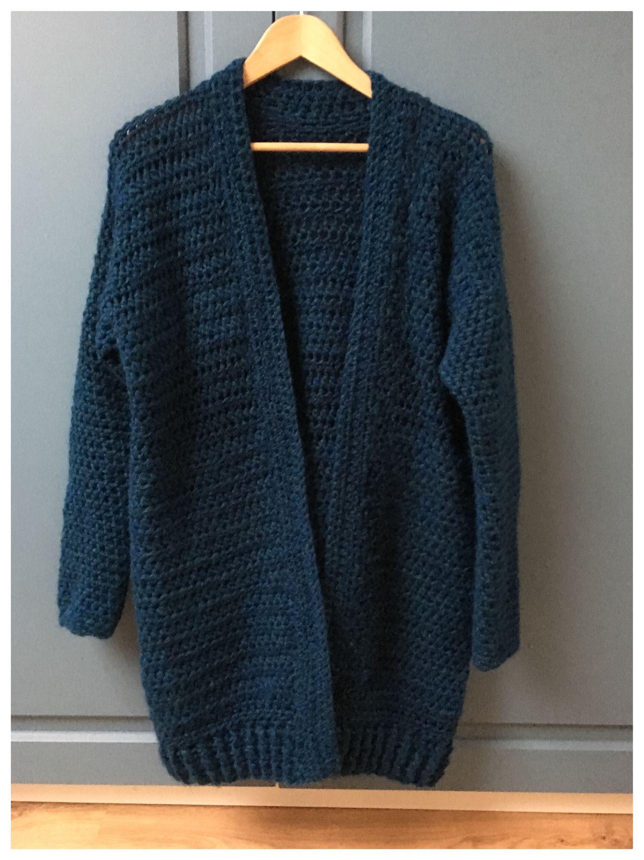 Vest Haken Zonder Patroon Crearies Crochet Crochet Crochet