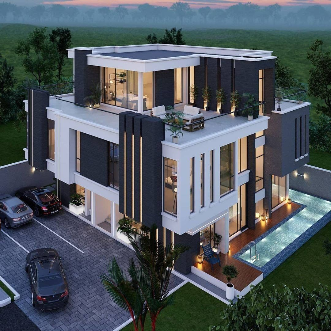 Most Amazing Prefer House Design Forever In 2020 Courtyard House Plans Luxury Homes Exterior Duplex House Design