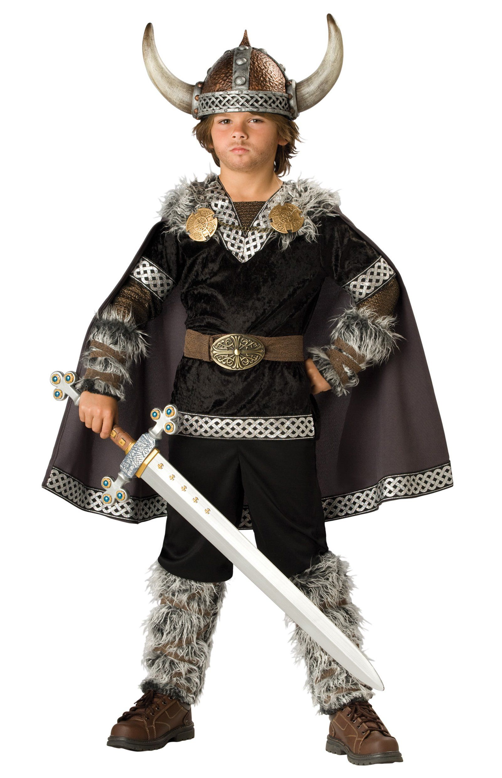 Viking warrior child costume viking costume vikings and for Children s halloween costume ideas