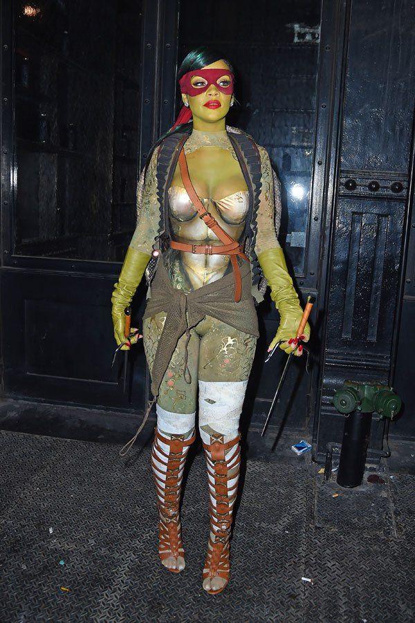 Rihanna Costume 2020 Halloween Rihanna Halloween Costume – Rihanna Teenage Mutant Ninja Tu