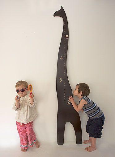 Wooden Giraffe Growth Chart Shes Crafty Pinterest Height