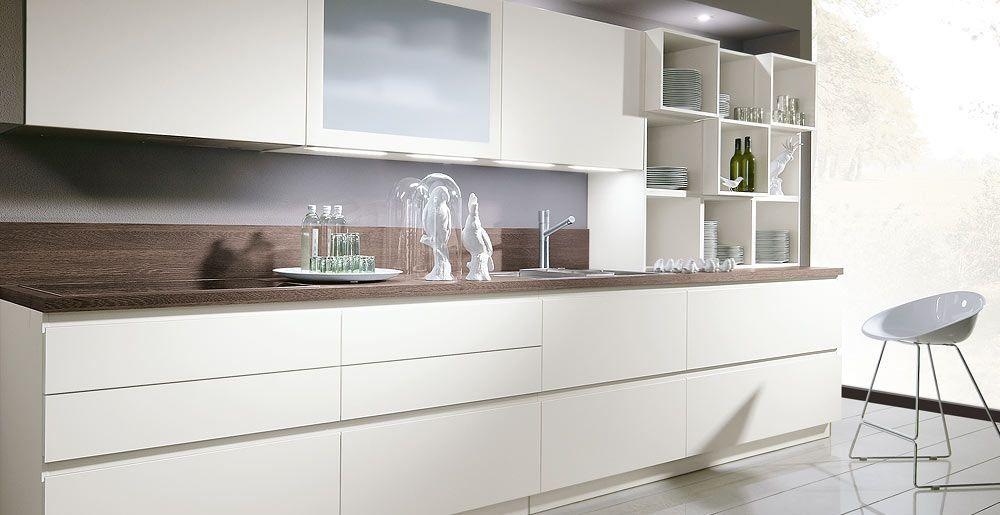 Schröder Küchen Küche Angebote Touch GLX Bianco Cuisine - Schroder cuisine