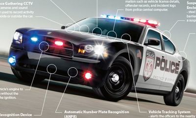 below is an infographic showing the history of police cars over the rh pinterest com