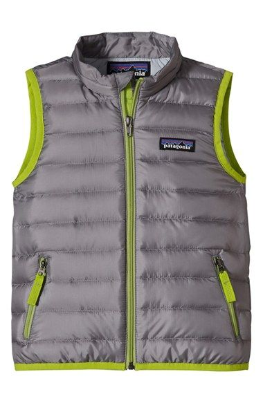 Patagonia 600 Fill Down Sweater Vest Toddler Boys Little Boys