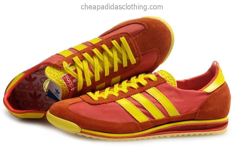 Wholesale price Mens Adidas SL 72 Vintage Twilight Orange