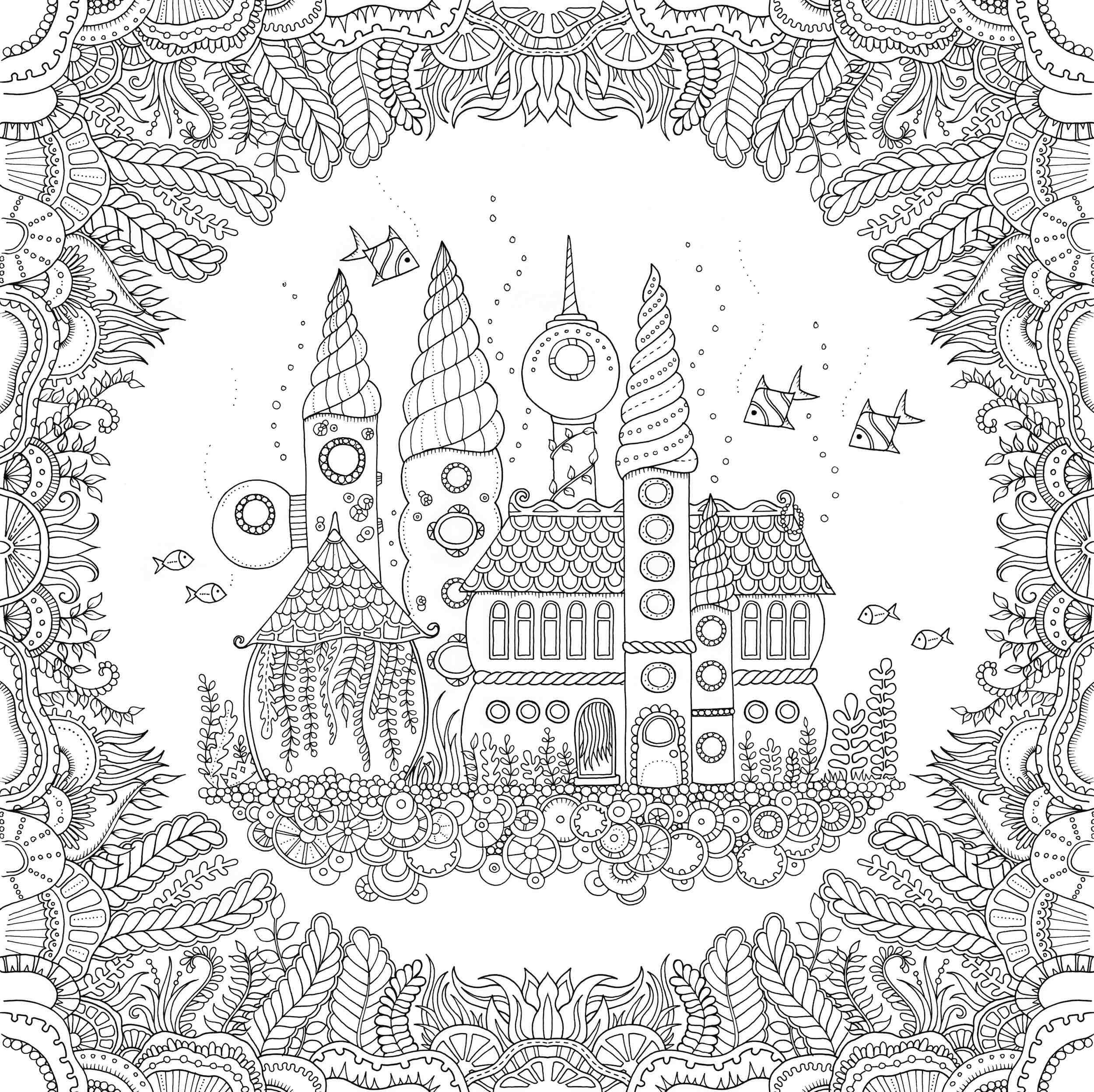 Free Coloring book pages for adults - Coloring Book Addict | Adult ...