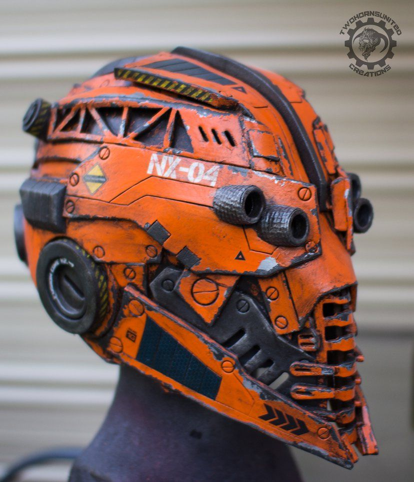 The Nexialist MkIV helmet (98% done) by TwoHornsUnited.deviantart.com on @DeviantArt