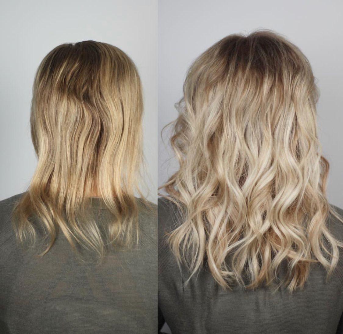 Extensions for volume! NBR Glue in hair extensions, Easy