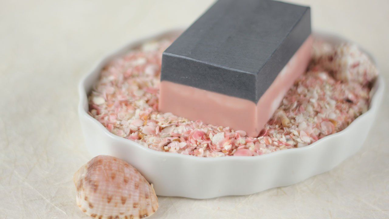 charcoal and rose clay spa bar | spa, clay and bar