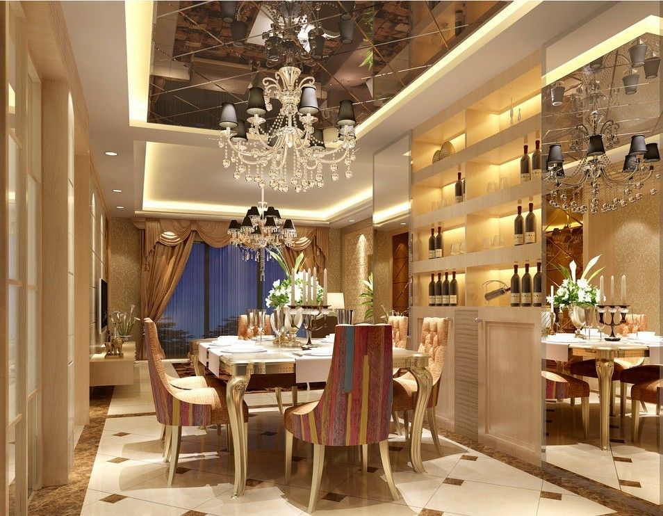 21 Luxurious Dining Room Design Inspiration