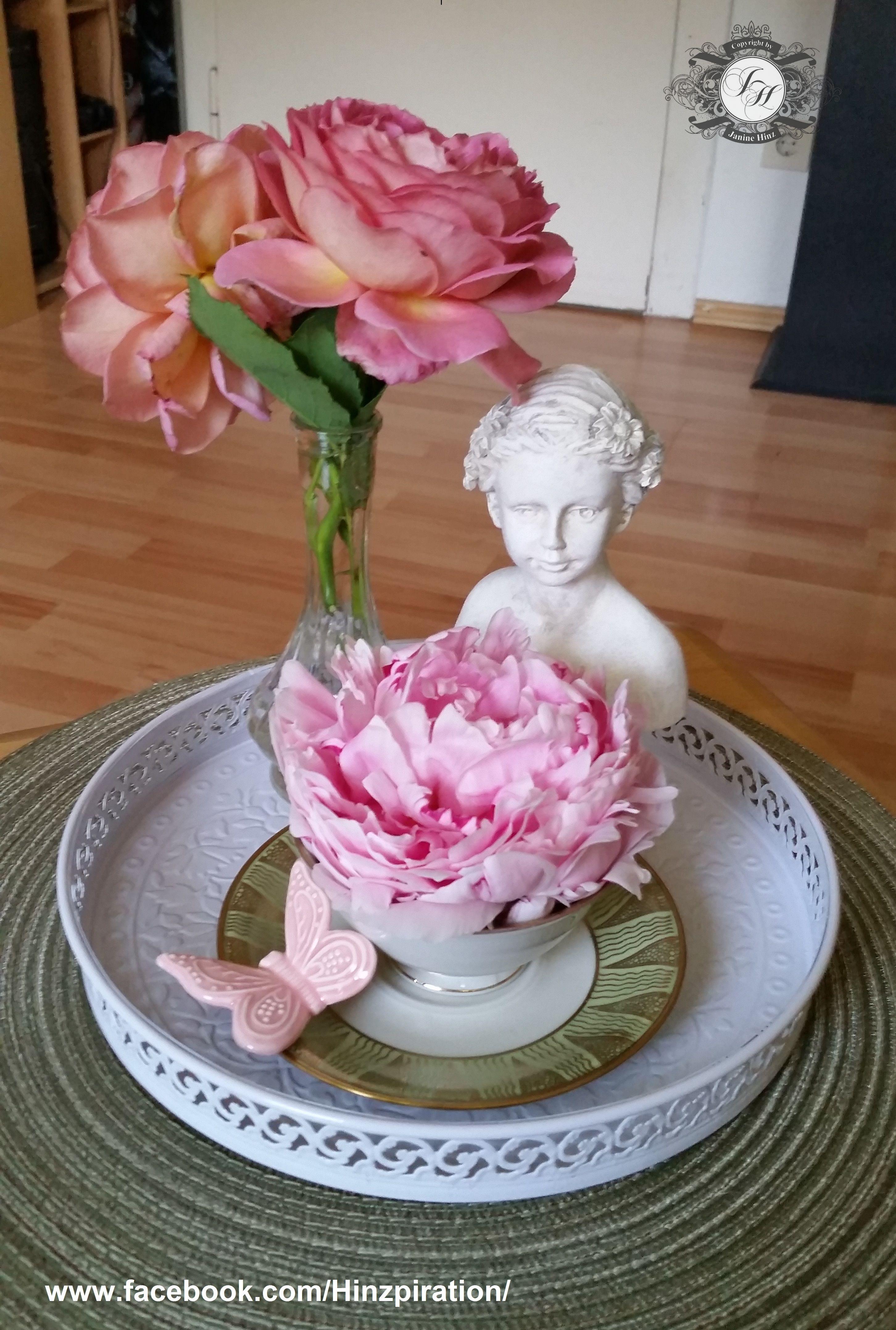 Photo of Sommerliche Deko mit Rosen