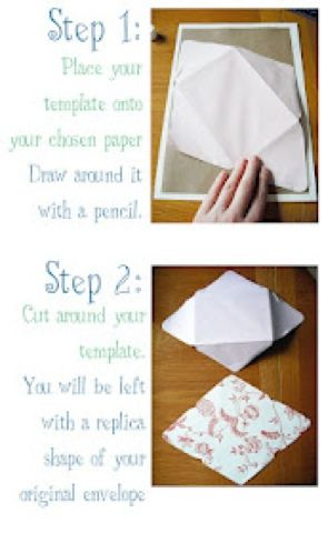 Diy Amplop : amplop, Family, Diary:, Membuat, Amplop, Kertas, Envelopes,, Amplop,